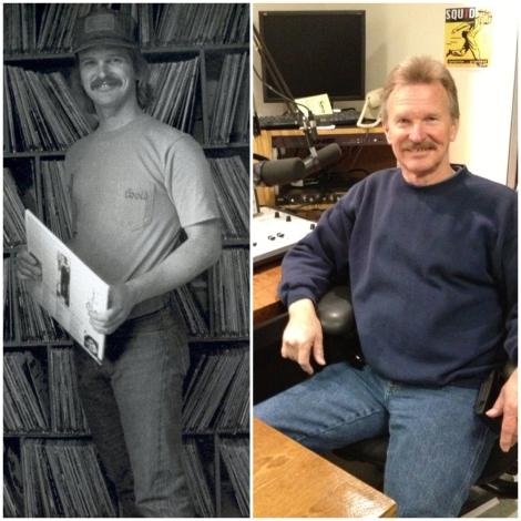 Left: Joe in 1976. Right: Joe in 2013.