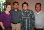 Amy, Kuya Timothy, Kuya Kevin and Uncle Fred. So sad I didn't get a picture with them