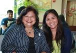 Mom and Manang Lita. They spoil me!