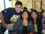"Erik, mom and Manang Lita. Look how happy my mom is to be with her ""boyfriend"" lol!"