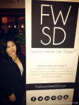 Cyra Velasquez at the 2013 Fashion Week San Diego (FWSD) Press Conference.