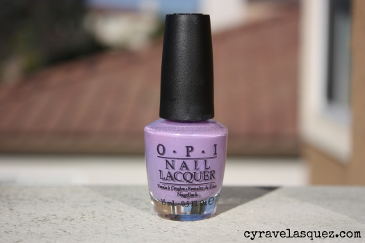 "OPI ""Do You Lilac It?"" nail polish"