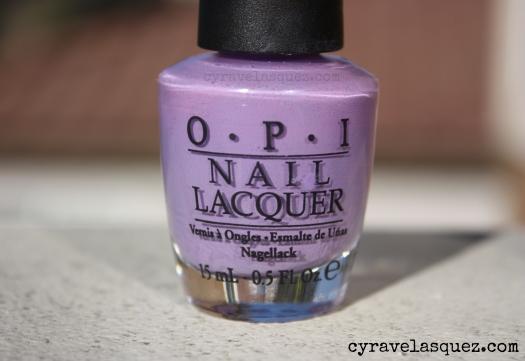 "OPI ""Do You Lilac It?"" nail polish"