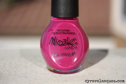 "Nicole by OPI ""Plumroll Please"" nail polish"
