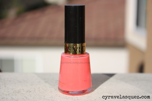 "Revlon ""Tropical Temptation"" nail polish"