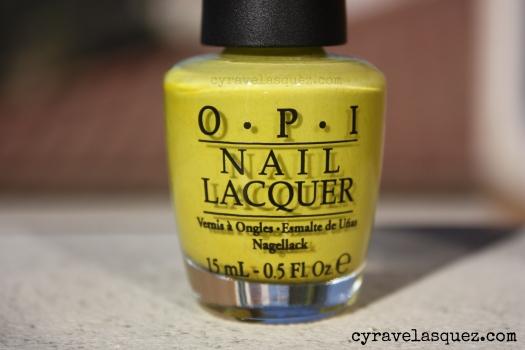 "OPI ""Did It On 'Em"" nail polish"