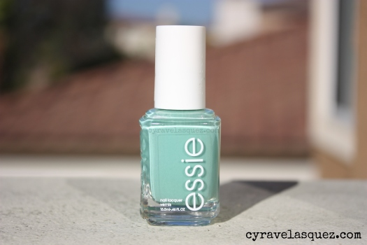 "Essie ""Turquoise and Caicos"" nail polish"
