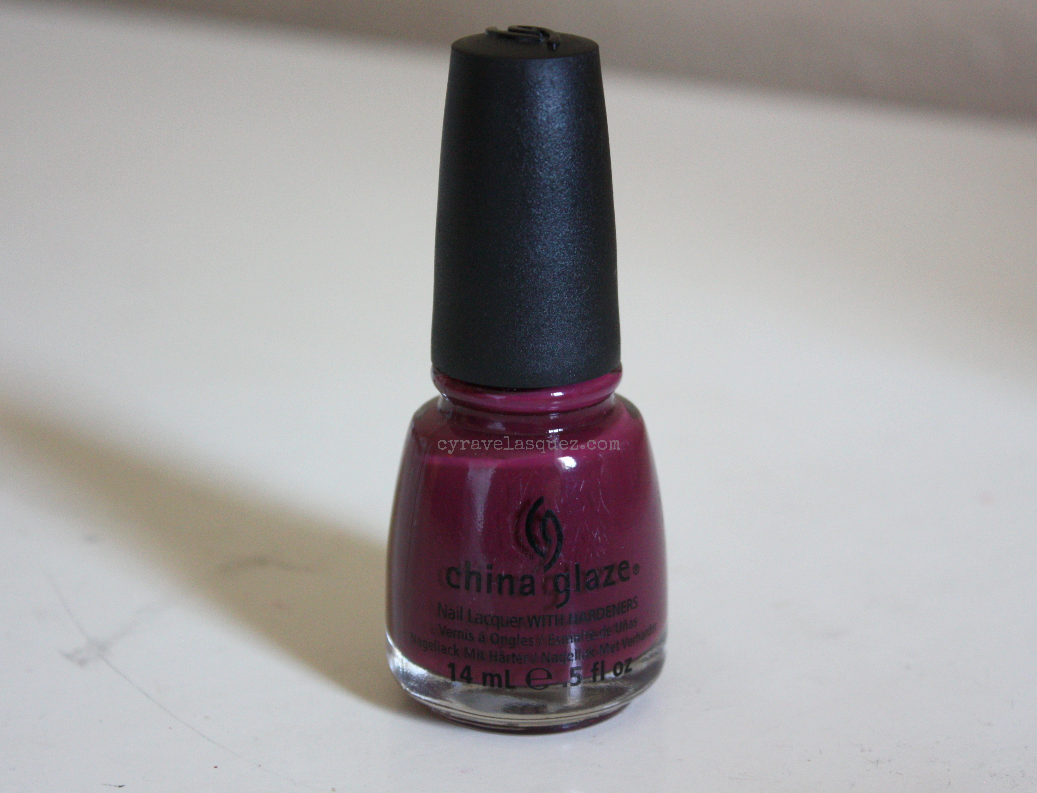 "China Glaze nail polish in ""VII"""