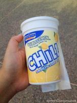 Lemon chiller at SeaWorld San Diego.