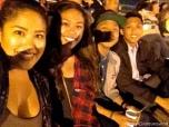 Cyra, Alarisse, Brennan and Derek Velasquez at SeaWorld San Diego.