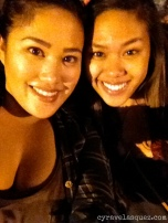 Cyra and Alarisse Velasquez at SeaWorld San Diego.