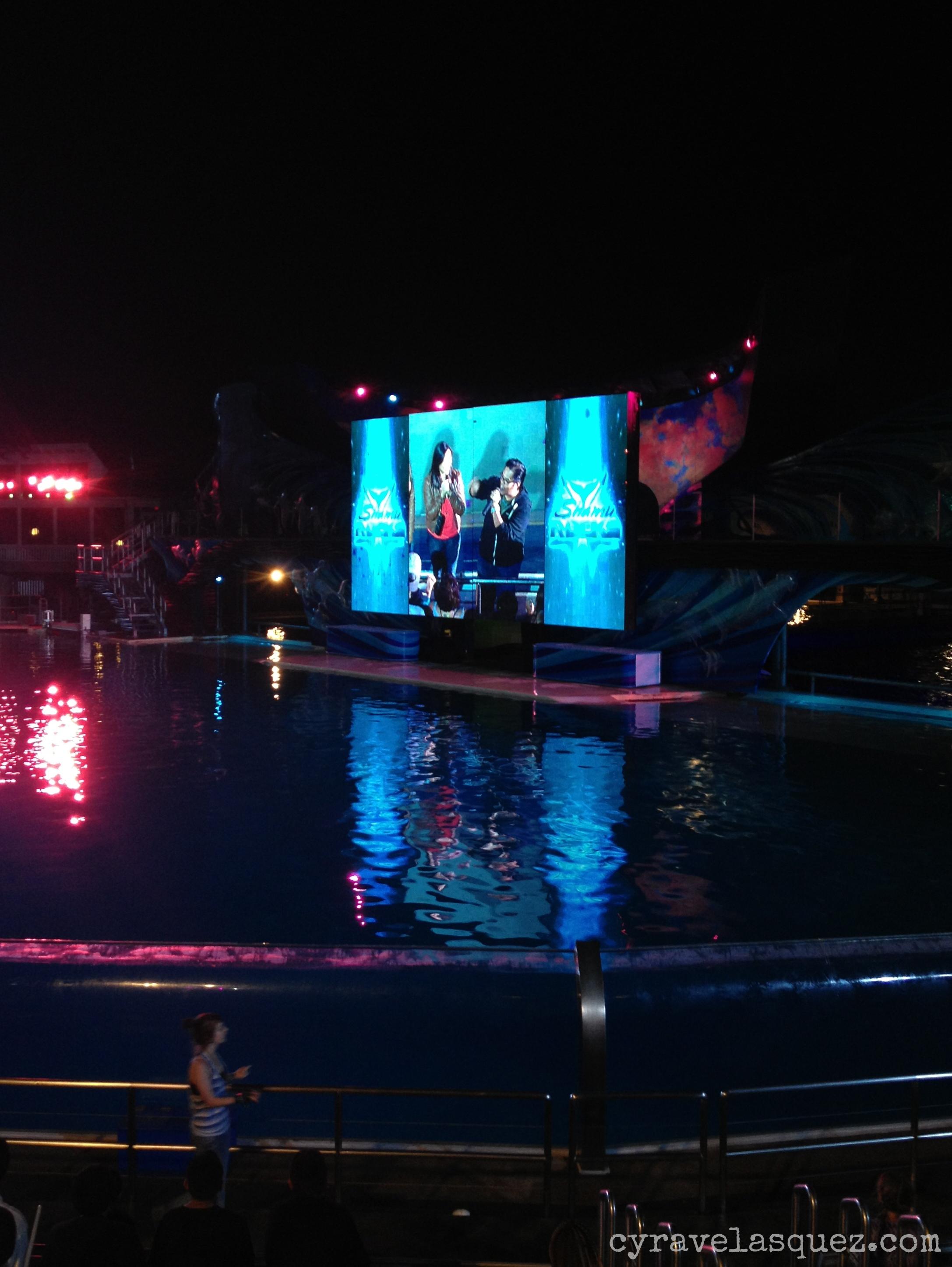 Hula Ramos and Dorothy Tran at SeaWorld San Diego.