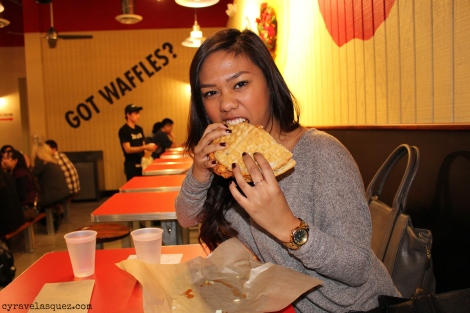 Alarisse Velasquez at Bruxie in Irvine, California.
