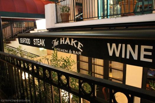 The Hake restaurant in La Jolla in San Diego, California.