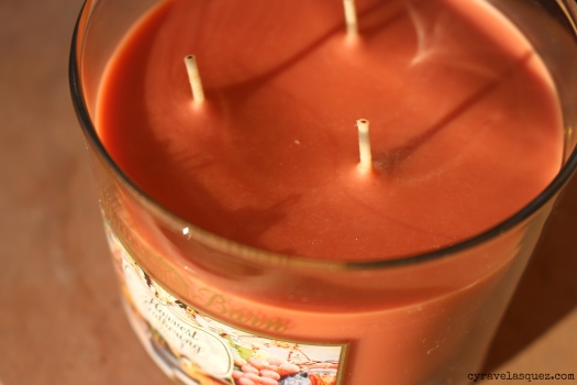 Harvest Gathering candle from Bath and Body Works.