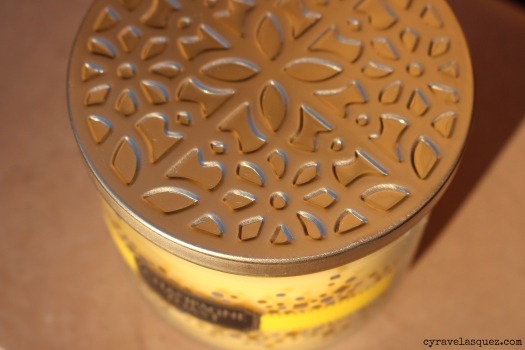 Champagne Toast candle from Bath and Body Works.