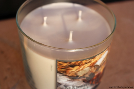 Marshmallow Fireside candle from Bath and Body Works.