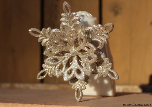 Snowflake wallflower plugin from Bath and Body Works.