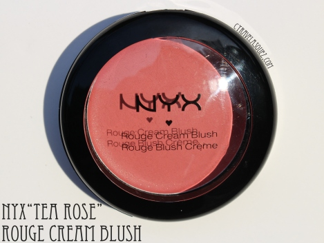 Nyx Tea Rose rouge cream blush.