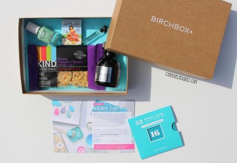 Birchbox for April 2014.
